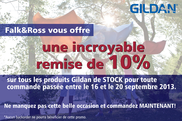 Gildan discount coupon