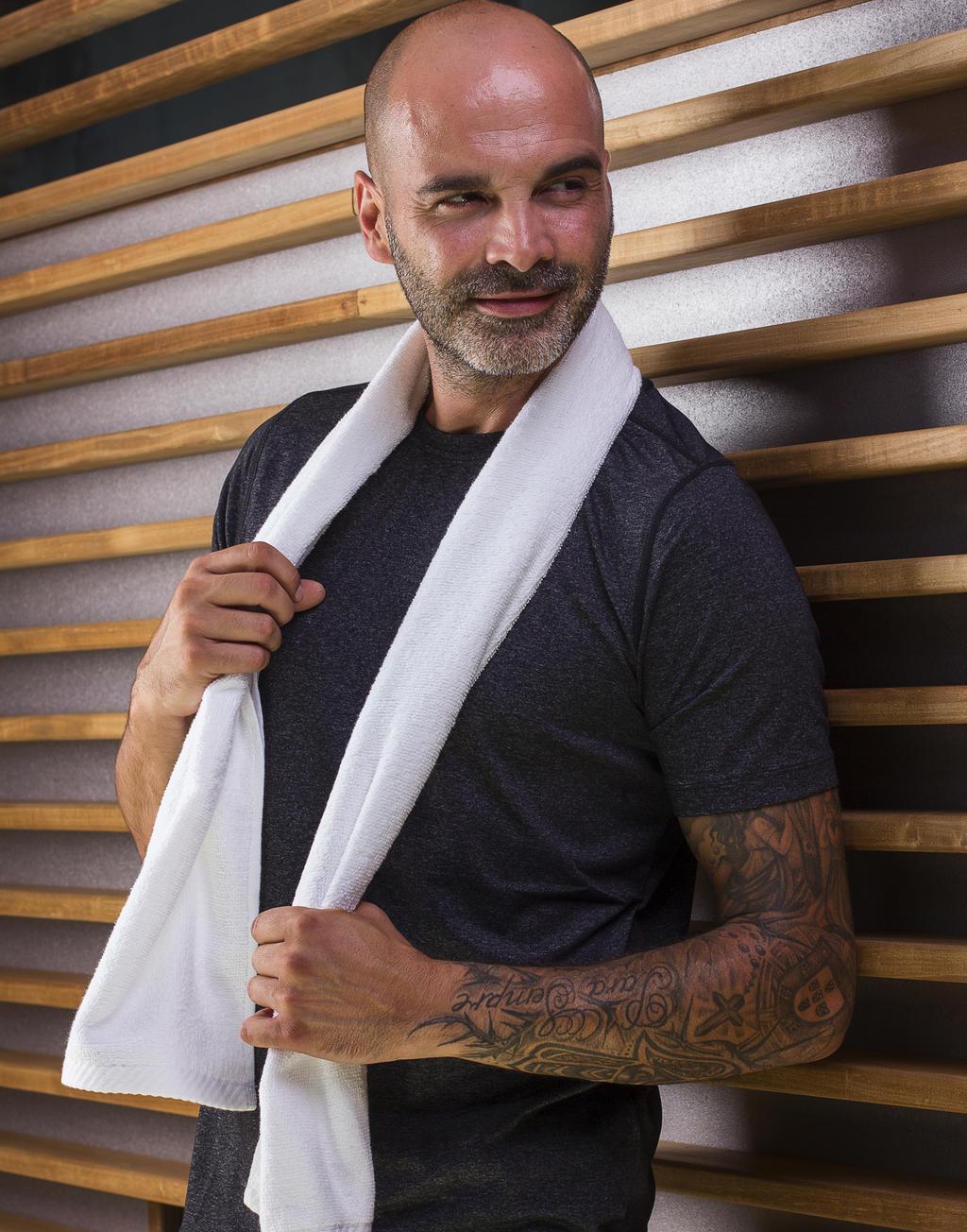 Ręcznik sportowy Danube 30x140 cm