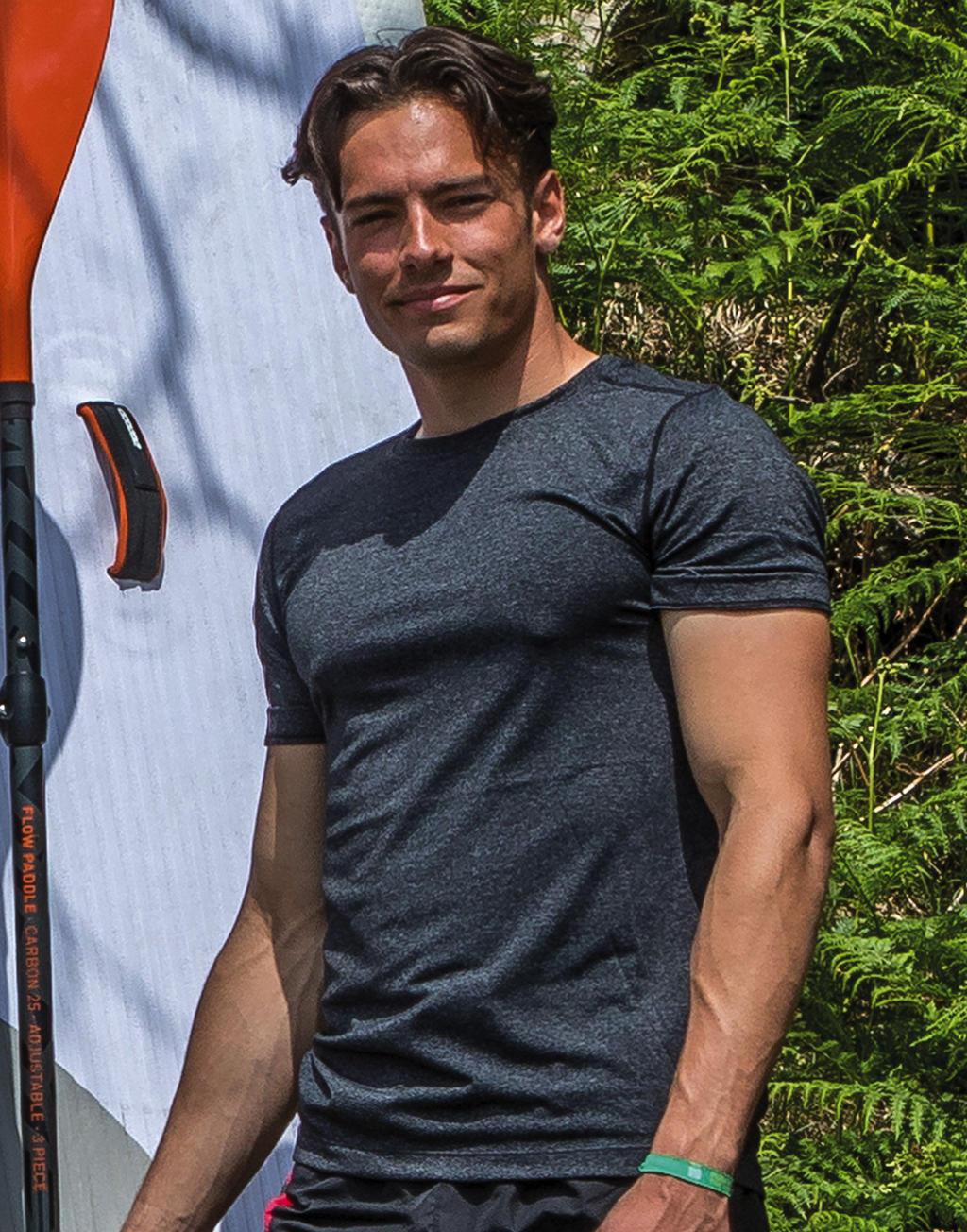 Koszulka Fitness Shiny Marl T-Shirt