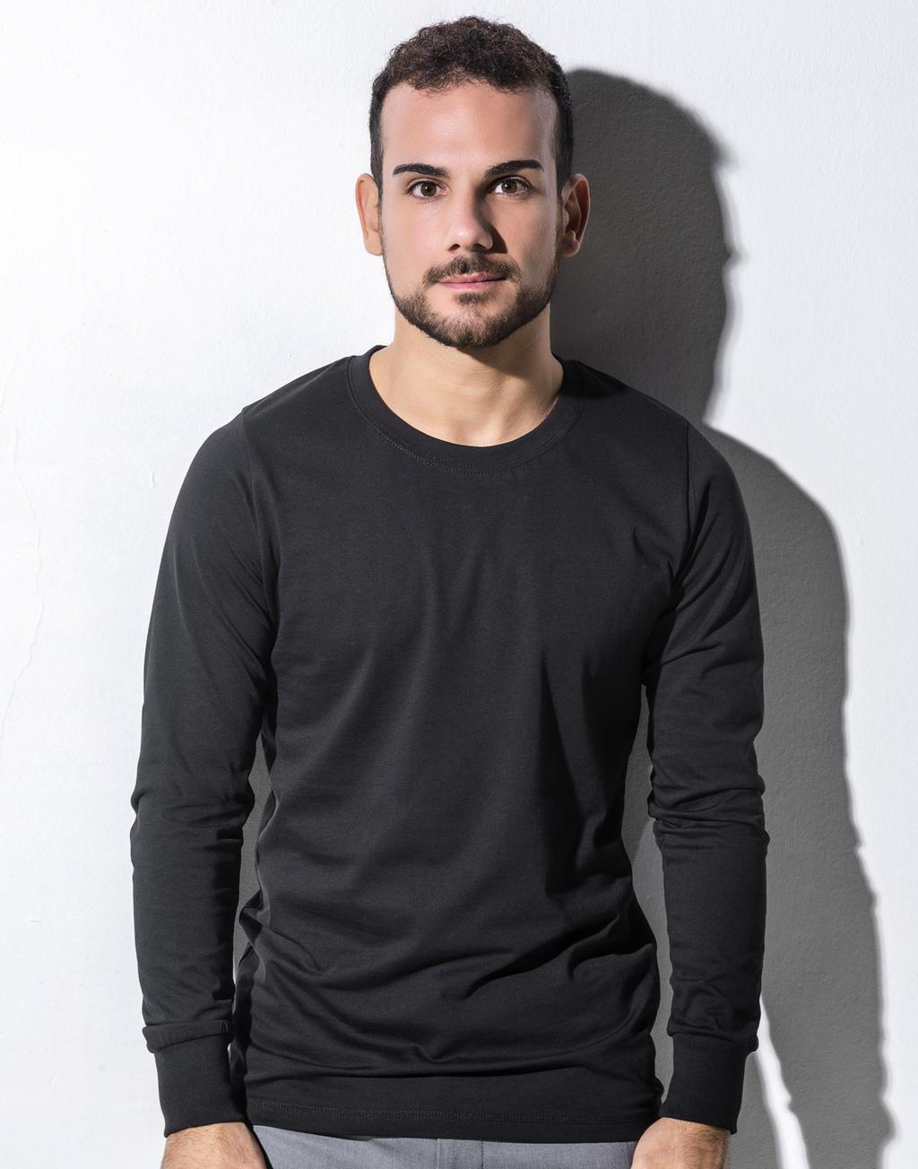 T-shirt Organic Jim z długim rękawem