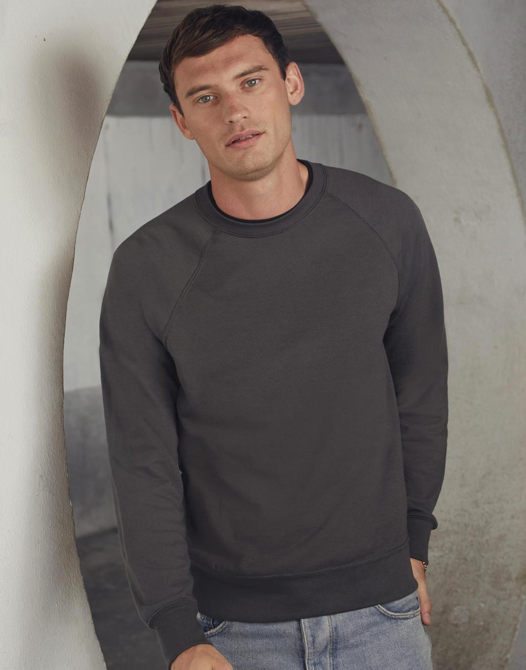 zdjęcia: Robimy nadruki na Lekka bluza raglanowa