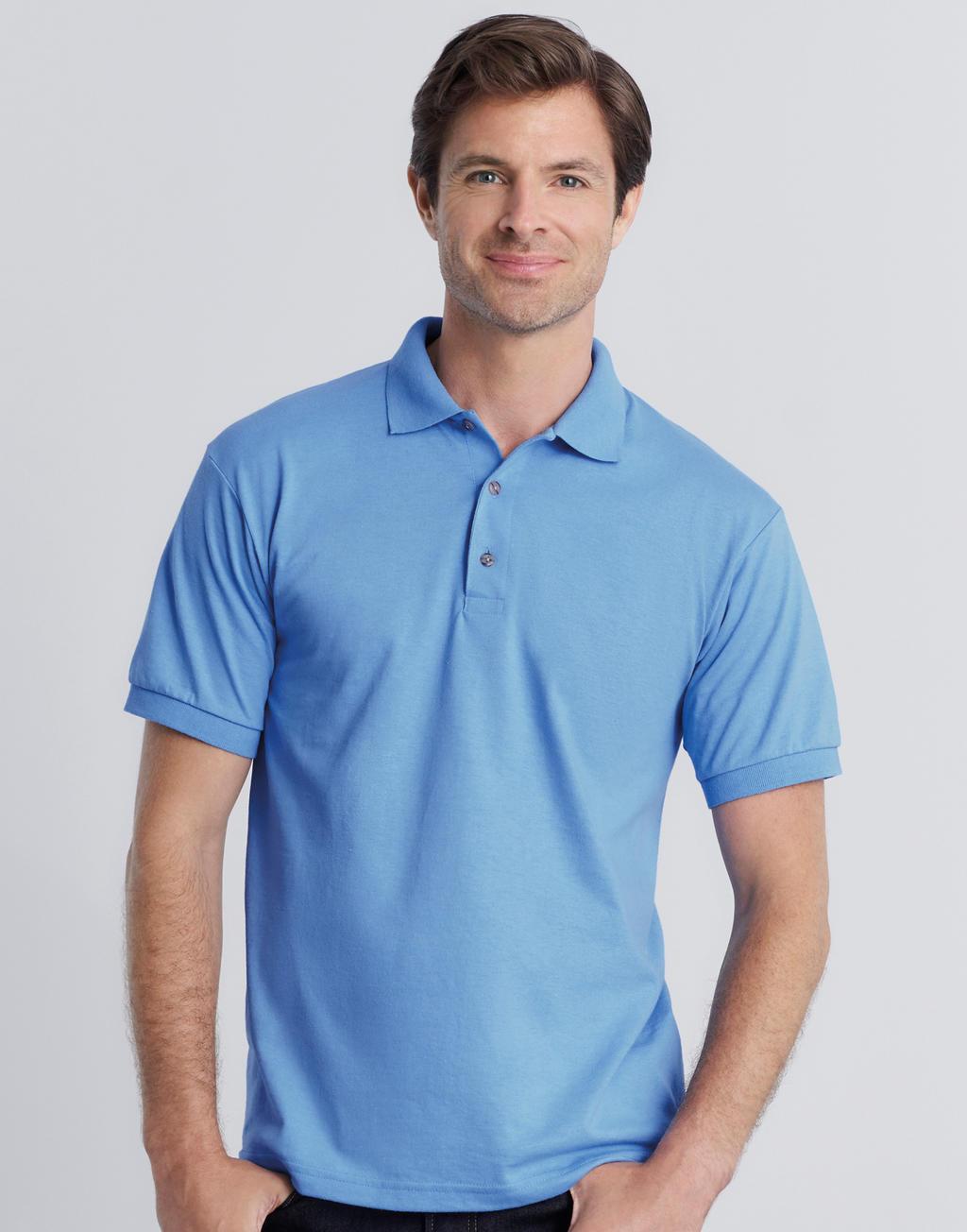 zdjęcia: Robimy nadruki na Męskie gładkie polo DryBlend® Jersey