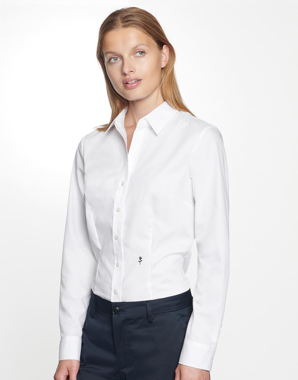 Damska koszula Slim Fit 1/1 Kent Seidensticker