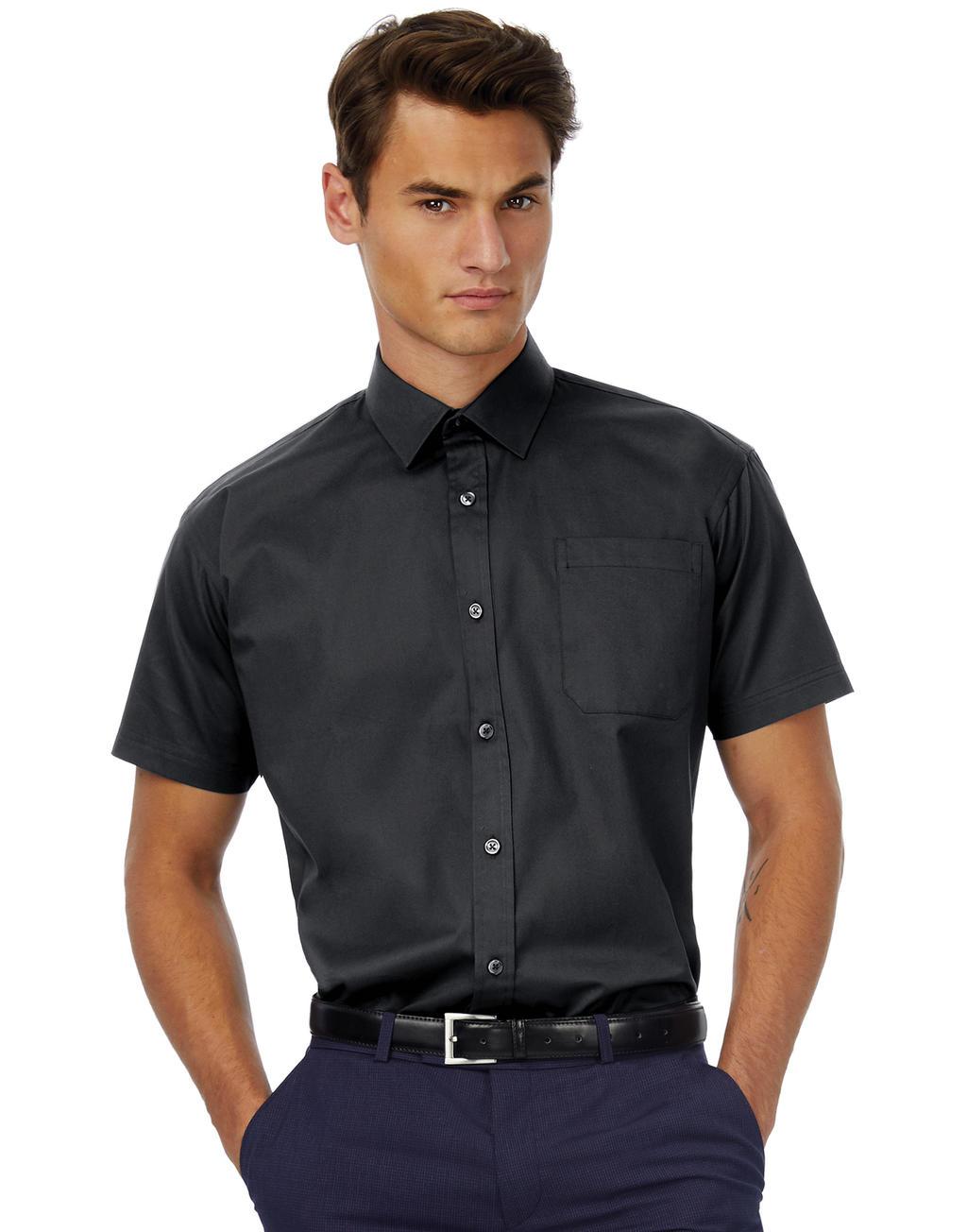 Koszula z krótkimi rękawami Sharp SSL/men Twill