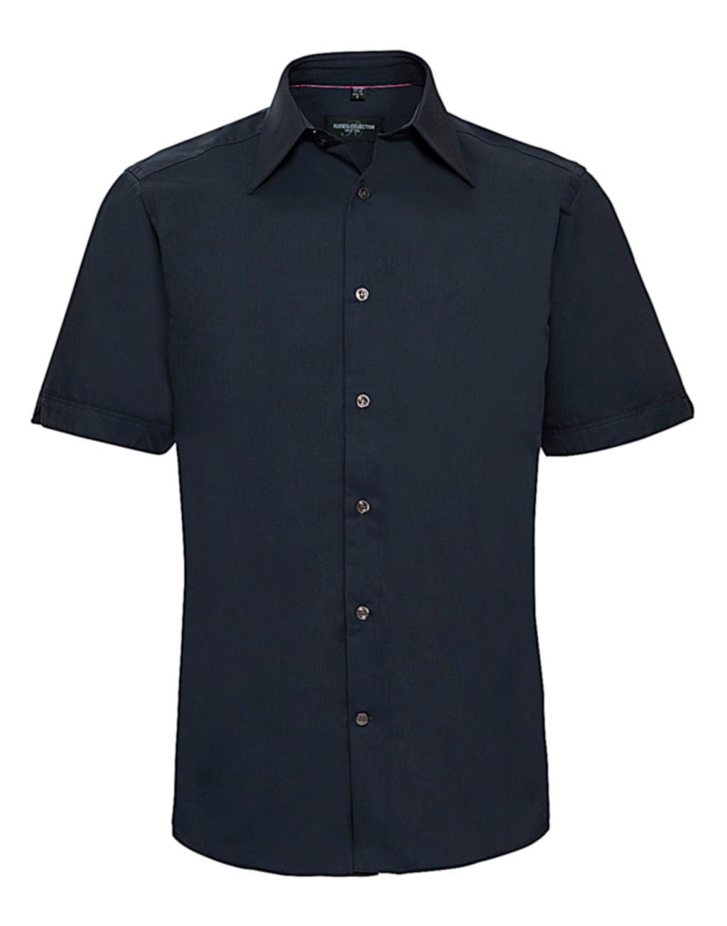 Koszula dopasowana Tencel z krótkimi rękawami