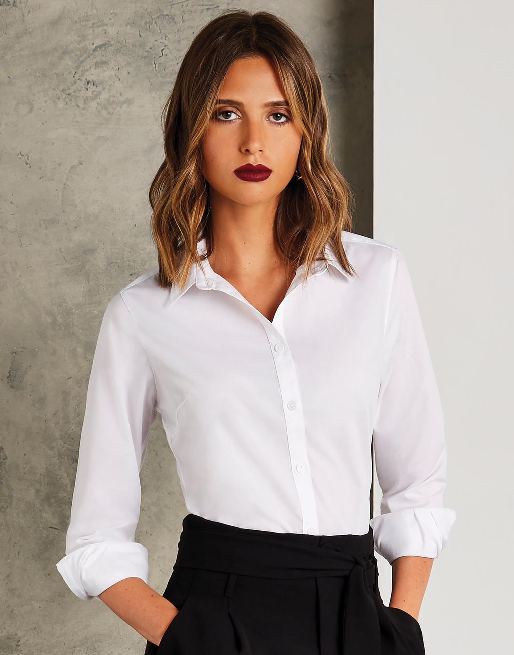 Damska koszula Poplin Tailored Fit