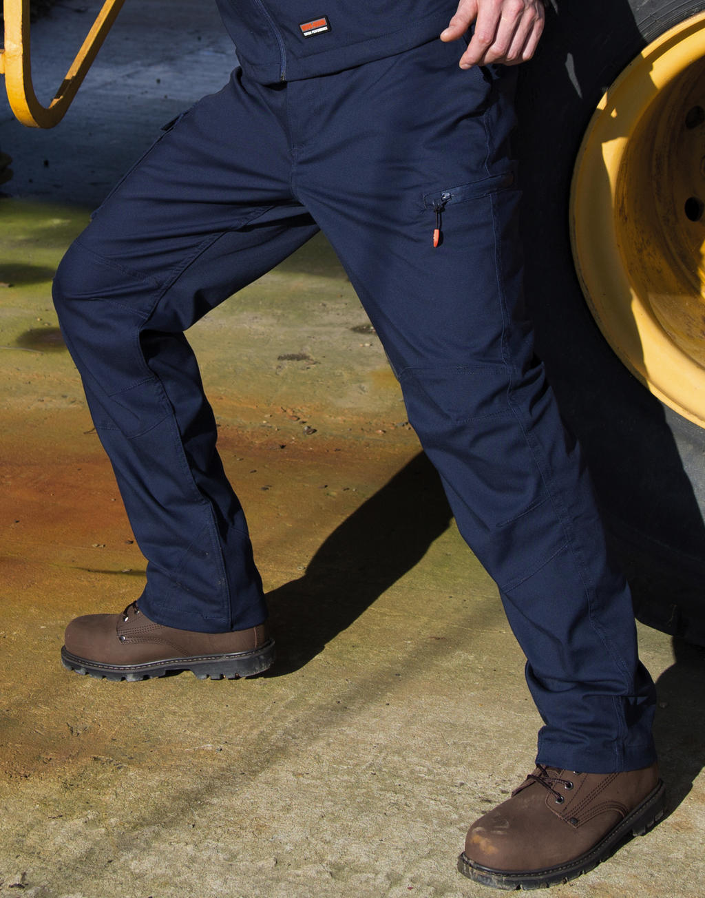 zdjęcia: Robimy nadruki na Spodnie robocze Work-Guard Stretch Regular