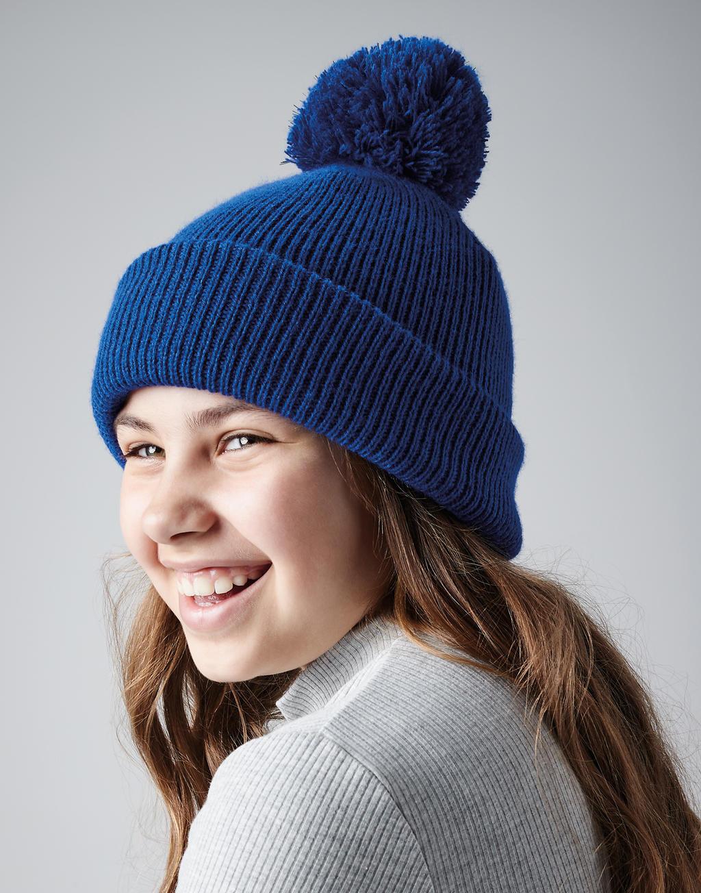 Dziecięca czapka z pomponem Reflective Bobble