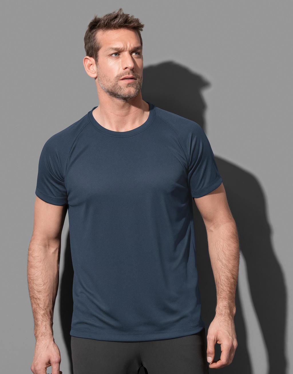 Koszulka męska Active 140 Raglan
