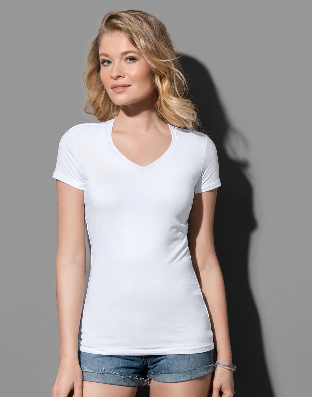 Koszulka Claire V-neck