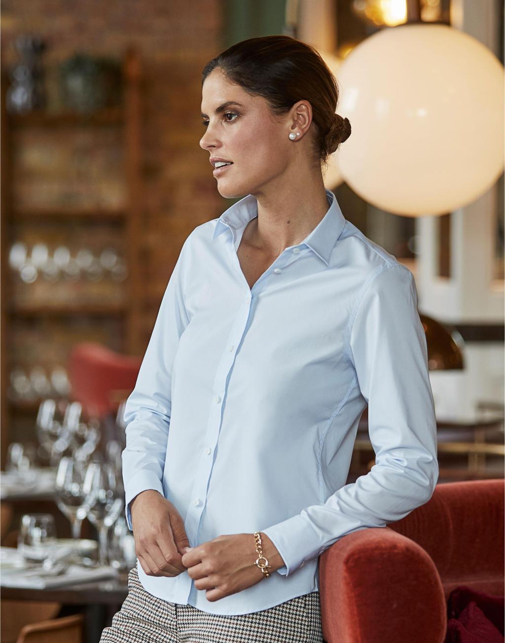 Damska koszula Luxury Stretch